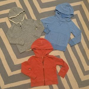 Lot of 3 CrewCuts hoodies! Size 3